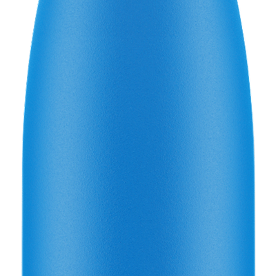 Chilly's Bottle - Neon - Blue - 500 ml
