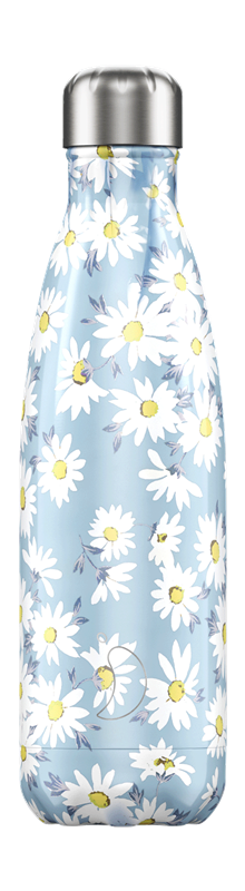 Chilly's Bottle - Floral - Daisy - 500 ml