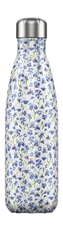 Chilly's Bottle - Floral - Iris - 500 ml