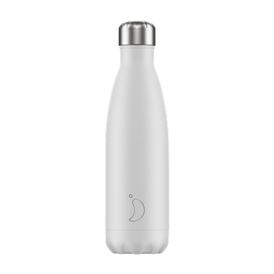 Chilly's Bottle - Monochrome - White - 500 ml