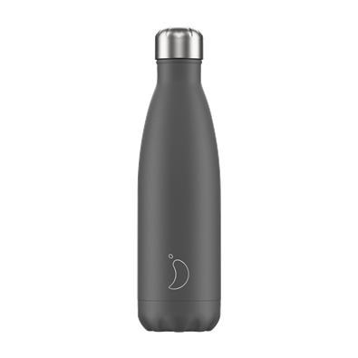 Chilly's Bottle - Monochrome - Grey - 500 ml