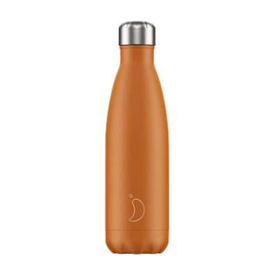 Chilly's Bottle - Matte - Burnt Orange - 500 ml