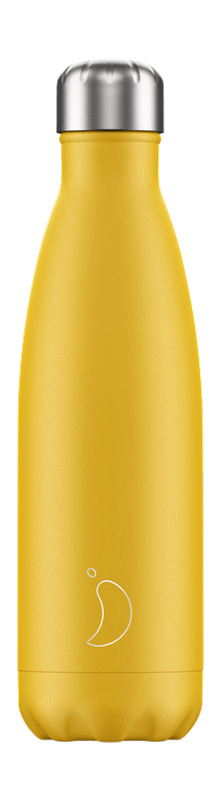 Chilly's Bottle - Matte - Burnt Yellow - 500 ml
