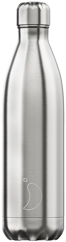 Chilly's Bottle - SS - Stainless Steel alternate 18552