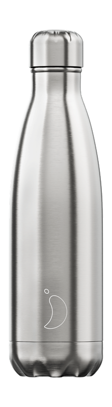 Chilly's Bottle - SS - Stainless Steel alternate 18624