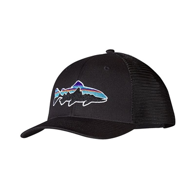 Patagonia Fitz Roy Trout Trucker Hat - BLK Black