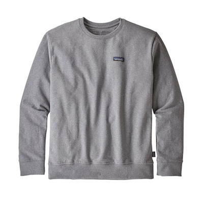 Patagonia Men's P-6 Label Uprisal Crew Sweatshirt - GLH Gravel Heather