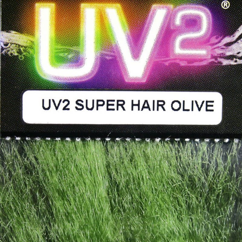 Hareline UV2 Super Hair - Olive