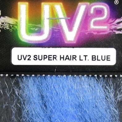 Hareline UV2 Super Hair - Light Blue