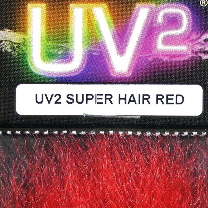 Hareline UV2 Super Hair - Red