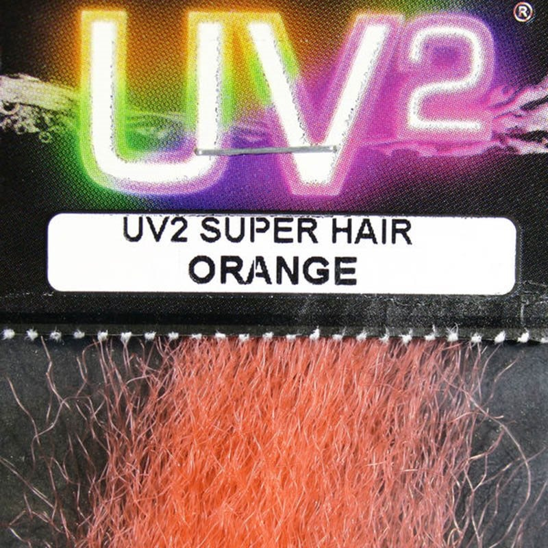 Hareline UV2 Super Hair - Orange