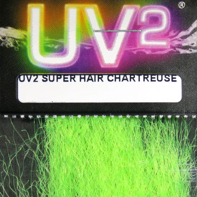 Hareline UV2 Super Hair - Chartreuse