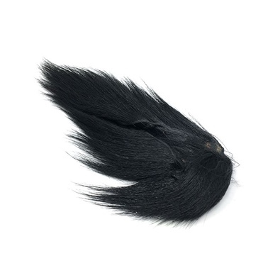 Hareline Large Northern Bucktail - Black