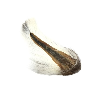 Hareline Large Northern Bucktail - White