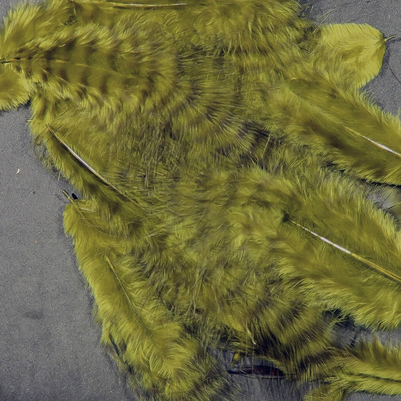 Hareline Grizzly Marabou - Olive