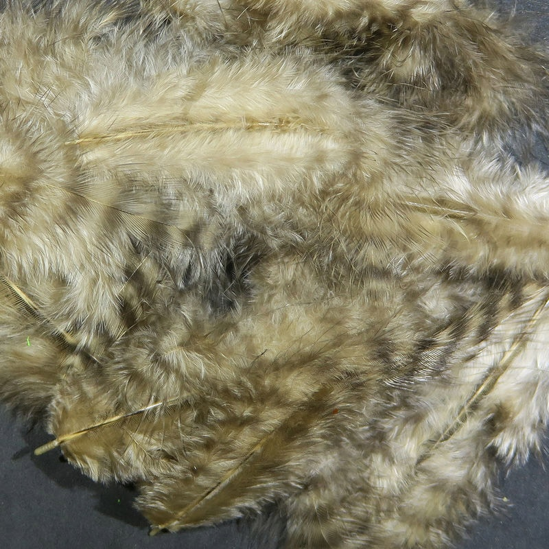 Hareline Grizzly Marabou - Tan