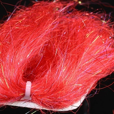 Supreme Wing Hair - Red Sparkle