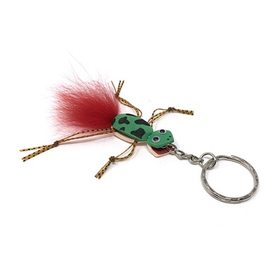 Keyring Frog - Tail Red