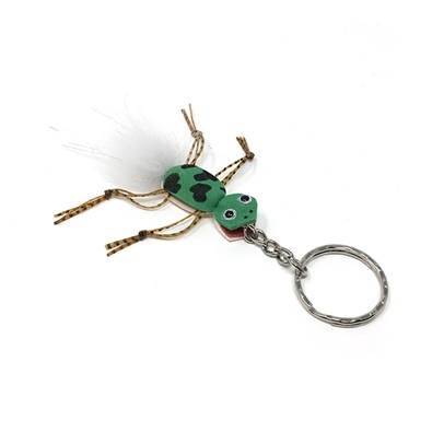 Keyring Frog - Tail White