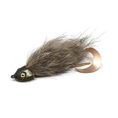 Wiggle Sculpin Streamer - Natural Grizzly