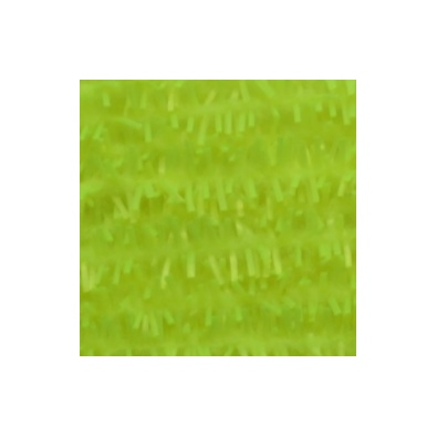 Gummy Chenille 6mm - Fluo Yellow