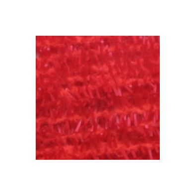 Gummy Chenille 6mm - Fluo Red