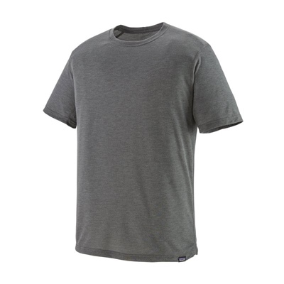Patagonia Men's Capilene Cool Trail Shirt - FGE Forge Grey