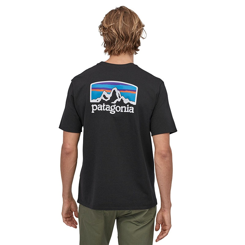 Patagonia Men's Fitz Roy Horizons Responsibili-Tee - GLH Gravel Heather alternate 36146