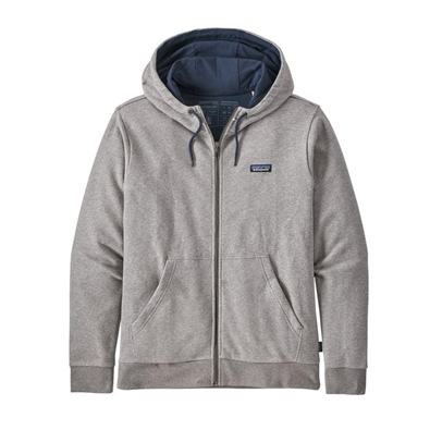 Patagonia Men's P-6 Label French Terry Full-Zip - FEA Feather Grey