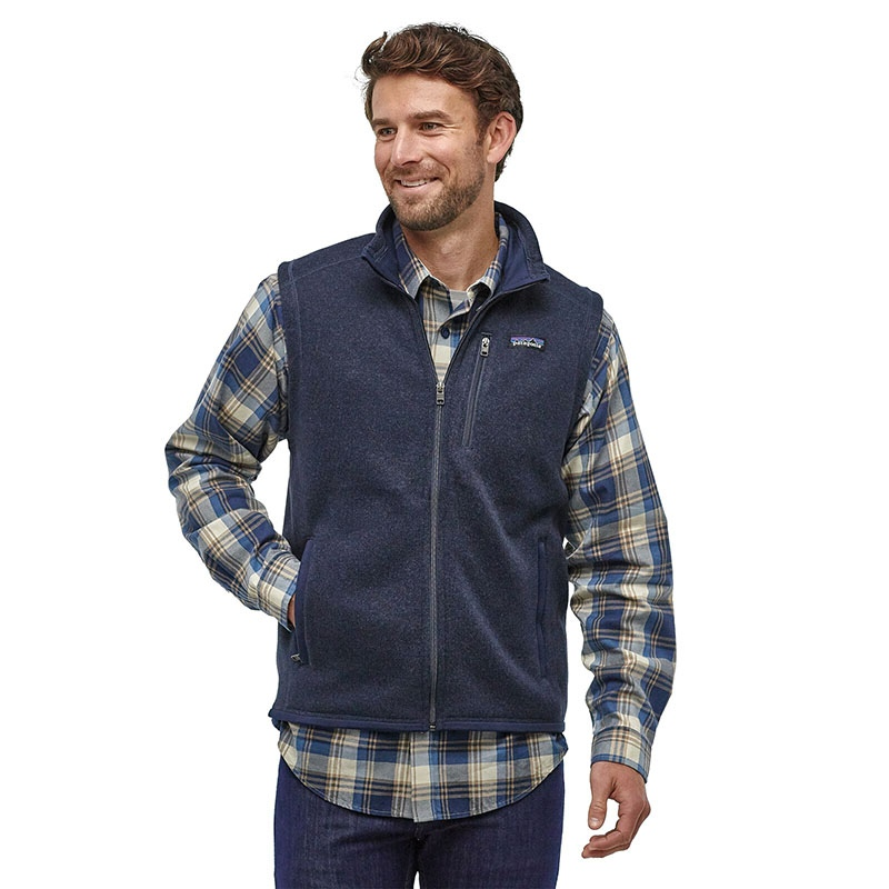 Patagonia Men's Better Sweater Vest - NENA New Navy alternate 37459