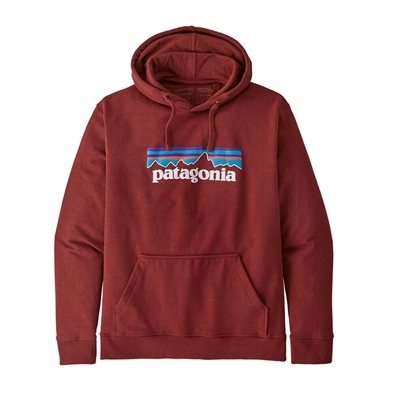 Patagonia Men's P-6 Logo Uprisal Hoody - BARR Barn Red