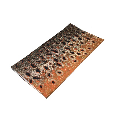 Neck Gaiter - Brown Trout Skin