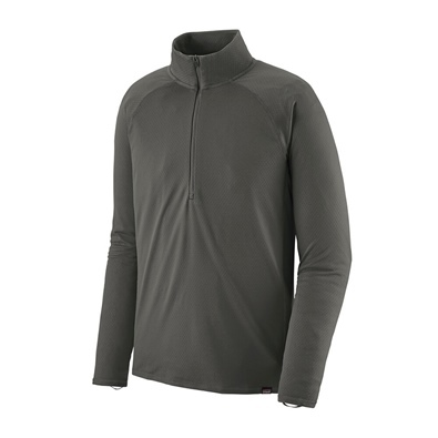 Patagonia Men's Capilene Midweight Zip Neck - FGE Forge Grey