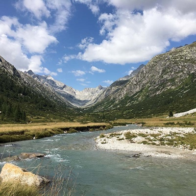 Val di Fumo Alto Chiese Trentino Fly Fishing Mosca Secca Dry Panorama