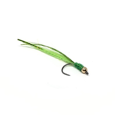 Shad Streamer - Gold & Green