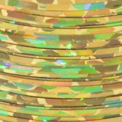 Holographic Fibers 1/69″ - Holo Gold