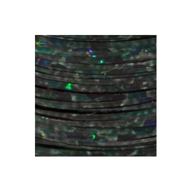 Holographic Fibers 1/69″ - Holo Black