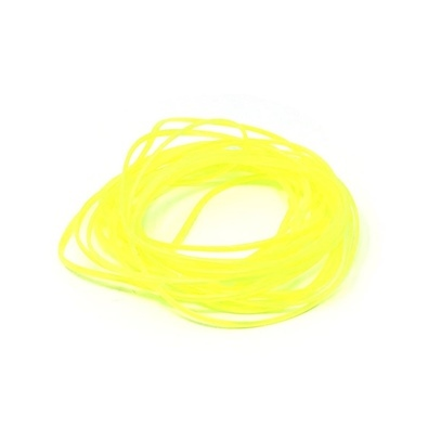 Body Glass Half Round 1,2mm - Yellow Fluo