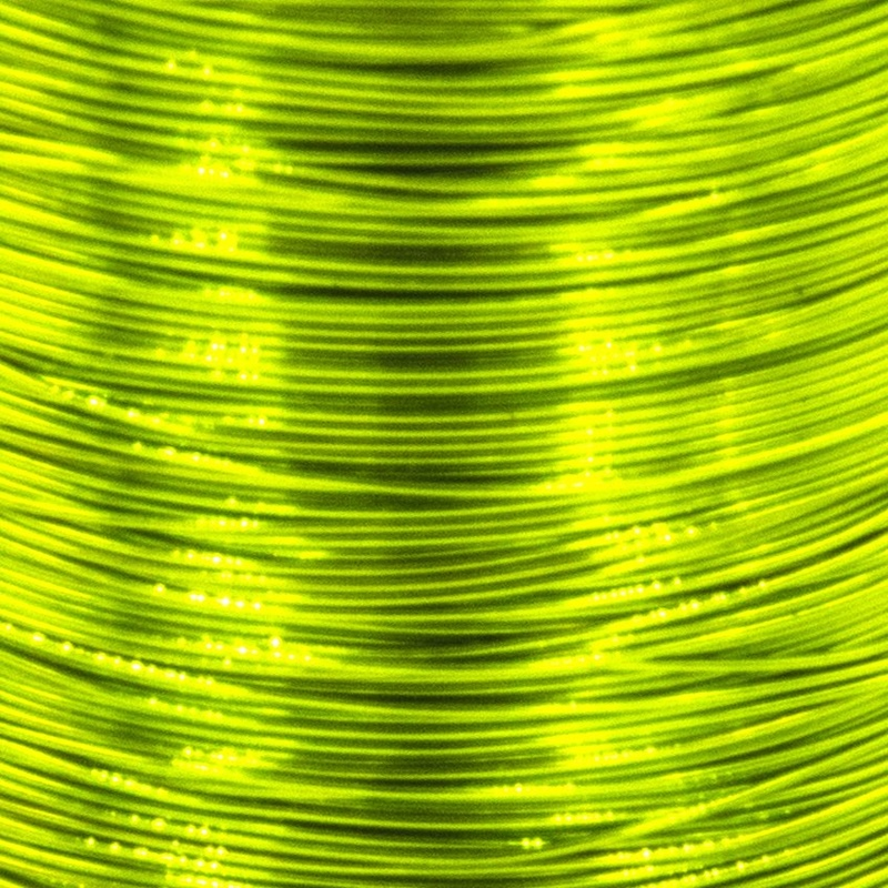 Color wire 0,18mm - Chartreuse