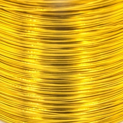 Color wire 0,09 gold