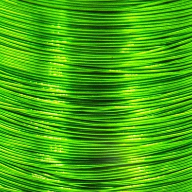 Color wire 0,09 green