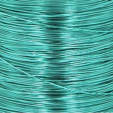 Color wire 0,09 turquoise