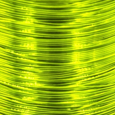 Color wire 0,09 chartreuse