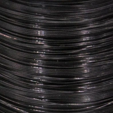 Color wire 0,09 black