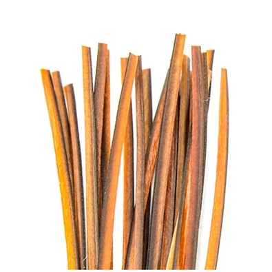 Hand Stripped Quill - Orange