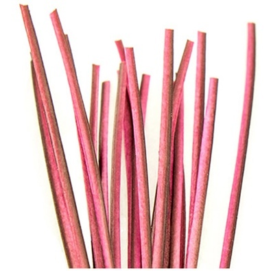 Hand Stripped Quill - Pink