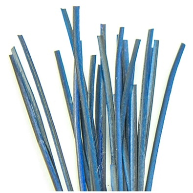 Hand Stripped Quill - Blue