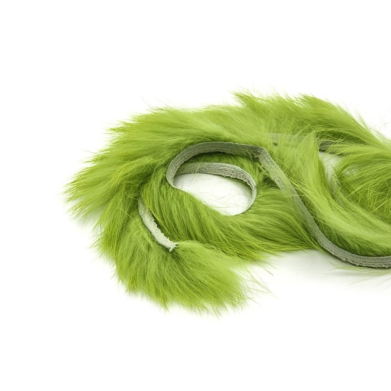 Zonker Rabbit 4mm - Chartreuse
