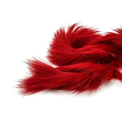 Zonker Rabbit 4mm red