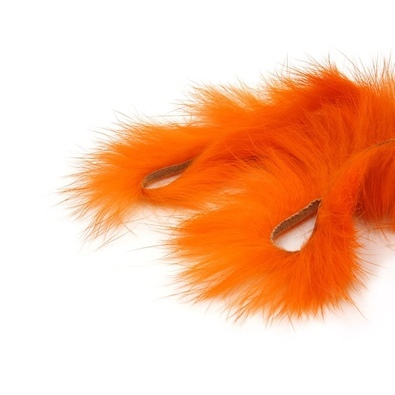 Zonker Rabbit 4mm orange fluo